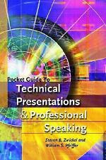Pocket Guide to Technical Presentations and Professional Speaking