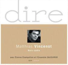 MATHIAS VINCENOT - HORS CADRE (CD NEUF)