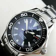 "NEW Battery!! OMEGA ""PROFESSIONAL 300M/1000ft Ladies Divers Watch +1Link"