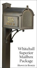 Whitehall Superior Streetside Mailbox Package - $399.99 - $99.00 below MSRP!