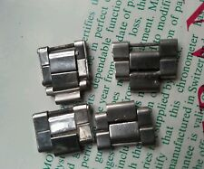 4 ROLEX VINTAGE parts  links BRACELET RIVETED FOLDED  7205/7835/6635  genuine