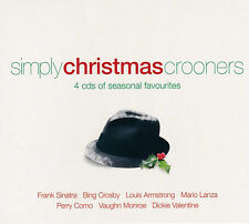 [NEW] 4CD: SIMPLY CHRISTMAS CROONERS