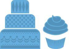 Marianne CREATABLES die cut stencil MINI CAKE & CUPCAKE LR0341