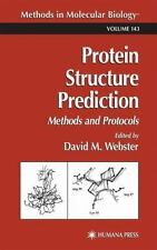 Protein Structure Prediction: Methods and Protocols (Methods in Molecular Biolog