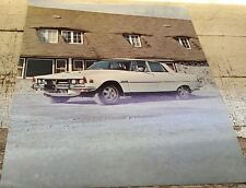 1967 ? ROVER 3500S Canada  Sales  Leaflet