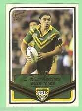 2005 TRADITION  RUGBY LEAGUE TRI NATIONS CARD  TN23  WILLIE TONGA