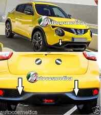 Nissan Juke 2014 cover cornici paraurti anteriore+posteriore +di colore carbonio