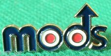 MODS With Roundel Targets & Arrow Scooterist MOD Metal Scooter Bike Badge NEW