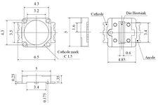 NICHIA NCCW 022 - LED weiß (5 Stück)