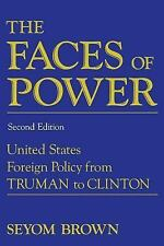 The Faces of Power Brown, Seyom Paperback