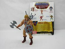 MOTUC,MOTU,HE-MAN,Masters Of The Universe Classics,100% Complete,Card,Figure