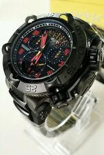 "Invicta 50mm Subaqua Noma V ""Twisted Metal"" Stealth Ed Swiss Chronograph Watch"