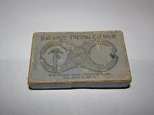 Waltham Kampe Antique Balance Truing Calipers w/Box + Extra, Watch Making Tools