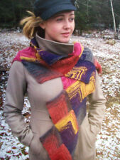 Liberty wool knitting pattern triangles scarf caps  sweaters