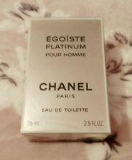 Eau de toilette EGOISTE PLATINUM CHANEL 75 ml  old formula, vintage.