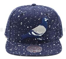 Staple x Mitchell & Ness Pigeon Speckle Snapback Embroidered Adjustable Cap Hat