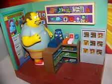 The Simpsons Comic Book Guy + Springfield Comic Store Interactive Playmates