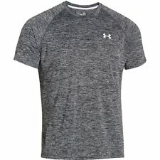 Mens Under Armour Tech Short Sleeve T-Shirt, Black 009, 5X-Large, 100% Polyester