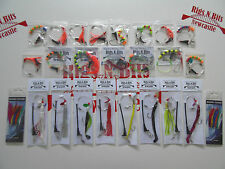 Sea fishing Rig Pack, 25 Boat rigs - Deep Sea Boat Rigs - Ling Cod Pollack