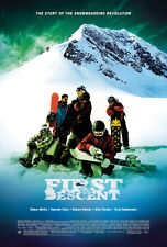 FIRST DESCENT MOVIE POSTER 2 Sided ORIGINAL 27x40 SHAUN WHITE NICK PERATA