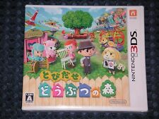 NEW 3DS Tobidase Doubutsu no Mori (Animal Crossing A New Leaf) JAPAN IMPORT F/S