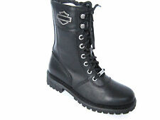 HARLEY DAVIDSON  Women Riding Lace-Up  Motorcycle Boot US-6