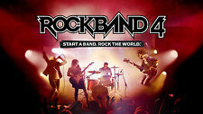 Rock Band 4 DLC 30 songs tracks Xbox One (no game)