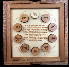 Save Your Ass Puzzle – Can you have the Donkey be the last remaining Animal?