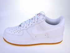 NIKE AIR FORCE 1 07 LV8 WHITE/GUM UK 7 BRAND NEW BOXED
