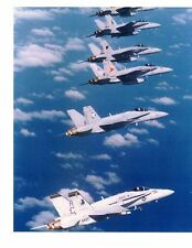 Boeing F18 Hornets VFA37 Raging Bulls Navy Fighter Aircraft Photo 8x10