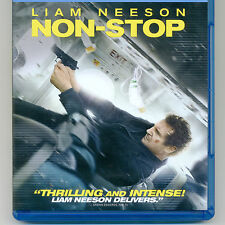 NON-STOP 2014 PG-13 mystery action thriller movie new Blu-ray & digital - NO DVD