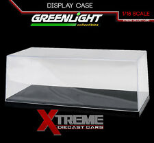 GREENLIGHT 55021 1:18 ACRYLIC DISPLAY SHOW CASE W/ INDY 500 BRICK YARD BASE
