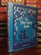 The Blue Fairy Book by Andrew Lang Brand New Sealed Leather Bound Collectible