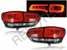 2014-2015 Jeep Grand Cherokee Limited LED Tail Lights Red Black RH & LH