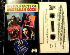 THORPE BROWN WRIGHT ROWE CASSETTE TAPE THE FOUR FACES OF AUSTRALIAN ROCK  RARE