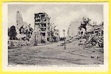 cpa PARIS La COMMUNE 1871 Une Rue d'AUTEUIL BOMBARDÉE par l'Armée de VERSAILLES
