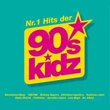 TOP HITS OF THE 90S KIDZ - BACKSTREET BOYS, BRITNEY SPEARS -   3 CD NEU