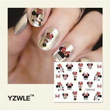 Nail Art Water Decals/Stickers/Transfers/Wraps Minnie Mouse #183