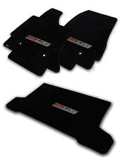 NEW! Black Floor Mats 2014-2016 CORVETTE Z06 Supercharged Logo Embroidered 3pc