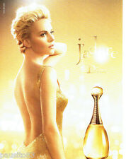 PUBLICITE ADVERTISING 1016  2015   J'Adore parfum Charlize Theron par Dior