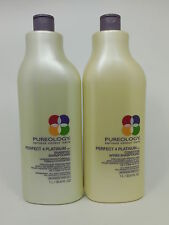 Pureology Perfect 4 Platinum Shampoo and Conditioner Liter Duo