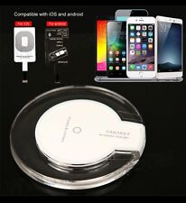 QI WIRELESS CHARGER+WIRELESS CHARGE RECEIVER MODULE/PAD FOR iPhone 5/5s/6/6+