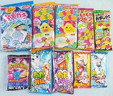 10 PCS SET Japanese Candy Kit Kracie Meiji Coris poppin cookin Oekaki Gummy Gift