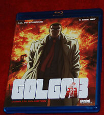 Golgo 13: Complete Collection (Blu-ray Disc, 2013, 6-Disc Set)  SENTAI ANIME