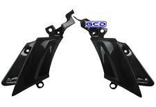 Yamaha (03-05) R6 (06-09) R6S Side Mid Cover Fairings 100% Twill Carbon Fiber