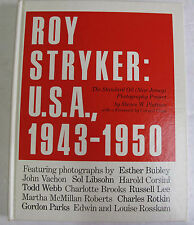Roy Stryker Photography Photos First Edition 1983 Standard Oil Project NJ