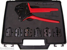 Electricians 6 Piece Combination Crimping Tool Kit - 6AWG  8AWG   10AWG  A6632