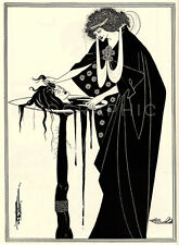 SALOME, 1894 by Aubrey Beardsley Vintage Giclee Canvas Print 20x27