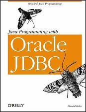 Java Programming with Oracle JDBC by Donald Bales (2001, Paperback)