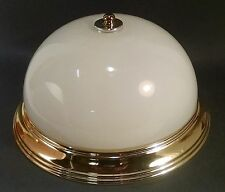 "FLUSH MOUNT CEILING FIXTURE 12 1/2"" BRASS PLATED Progress Lighting"